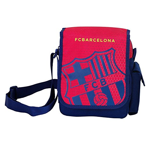 Sacoche Bandoulière Velcro Rouge Fc Barcelone Coupe d'europe 2016
