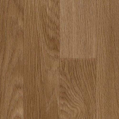 Vinylboden PVC Bodenbelag | Holzoptik Schiffsboden Eiche natur | 200, 300 und 400 cm Breite | Meterware | Variante: 4,5 x 3m