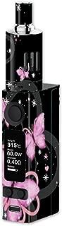 Skin Decal Vinyl Wrap for Joyetech Evic VTC Mini Vape Mod Skins Stickers Cover / Pink Majestic Butterflies Hearts