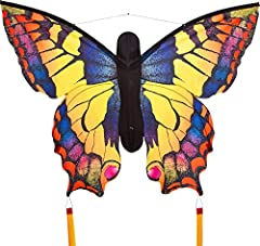 BEAUTIFUL TO WATCH, SIMPLE TO FLY: A bright butterfly kite provides hours of fun and amusement for any adult or child! No need to fuss with knots, an included easy clip will gets you flying fast! GREAT BEGINNER KITE: Adults will love it, and kids age...