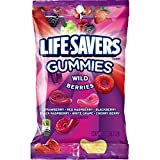 No need to wait for summer; these berry flavors are always in season. Featuring strawberry, red raspberry, blackberry, black raspberry, white grape, and cherry berry flavors Gummy candies that are a hole lot of fun Great for lunches, snacks, or to sh...