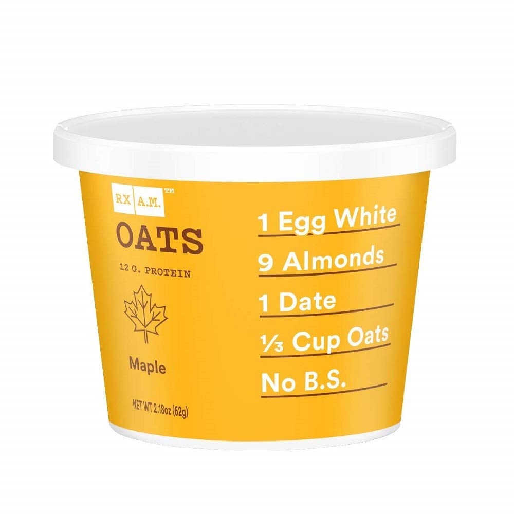 RXBAR Rx A.M. Oats Maple 12ct 2.18oz Animer and price revision Oa 12 Gluten Free Cups Ranking TOP5