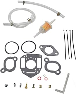 iFJF Carburetor Rebuild Kit Replace John Deere ONAN P216 P218 P220 Nikki Carburetor fits most current model Model Nikki Carbs on 2 & 3 cylinder