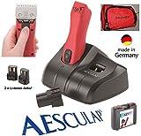 Rotschopf24 Edition: AESCULAP POWER Akku Tierschermaschine GT 306 / FAV 5 CL incl. Scherkopf. 43948