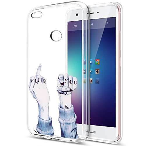 ikasus Coque Huawei P8 Lite 2017 Etui,Colorful Art Painted souple en caoutchouc de silicone Bumper Coque,cristal clair souple en silicone avec motif Coque arrière pour Huawei P8 Lite 2017,#11