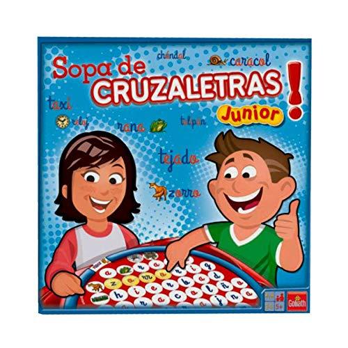 Goliath-70557 Sopa De Cruzaletras Junior, Juego de Mesa (70557)