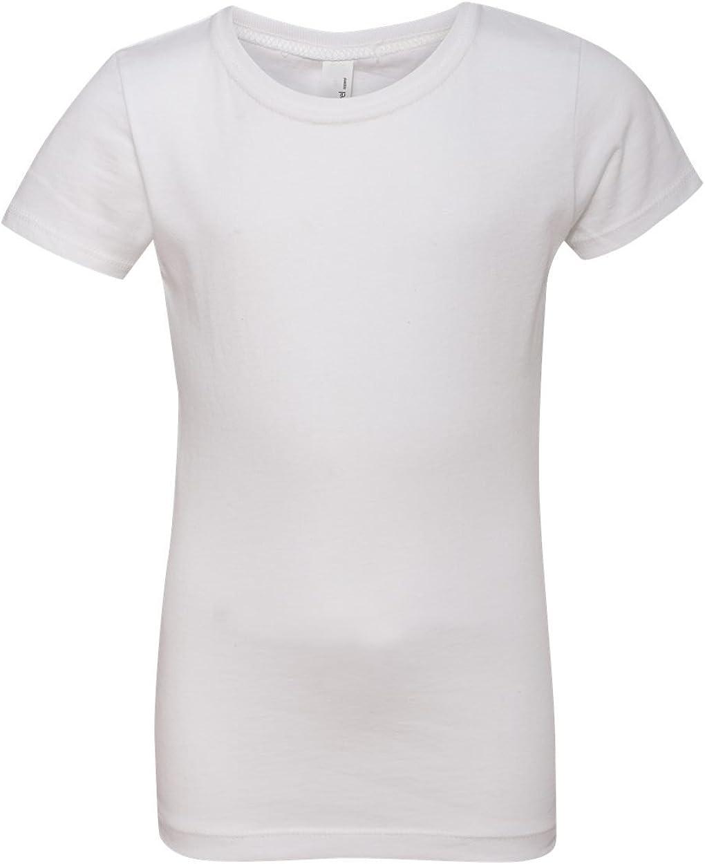 Next Level Girls' Princess Tee (White) (S)