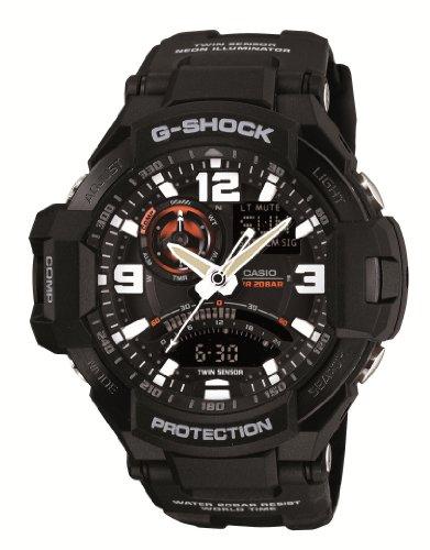 [カシオ] 腕時計 ジーショック GRAVITYMASTER GA-1000-1AJF ブラック