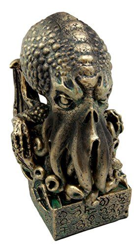 "Ebros Ocean Terror The Call Of Cthulhu Skull Figurine 7""H Kraken Sea Monster Octopus Sculpture The Ancient One Nautical Decor Statue"