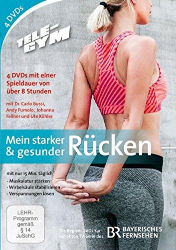 TELE-GYM Mein starker & gesunder Rücken Box [4 DVDs]