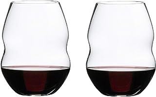 [正規品] RIEDEL リーデル 赤ワイン グラス ペアセット スワル レッドワインタンブラー 580ml 0450/30