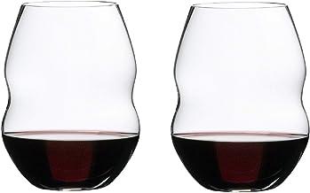 Riedel Swirl Red Wine Glasses, Set of 2