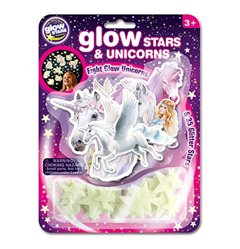The Original Glowstars Company Glow in the Dark Stars & Unicorns