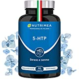 5HTP 100% Naturale Estratto di Griffonia  300 mg al Giorno  90 Capsule Vegetali  Registrato...
