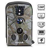 Bestok Trail Hunting Camera Wildlife Deer Game Cam12MP Night Vision 120 Full HD 2.4 LCD Screen PIR 65 ft/20m Waterproof IP65 for Wildlife Hunting Monitoring Indoor and Outdoor Activities (5220)