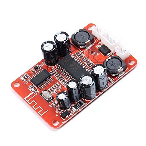 ARCELI TDA8932 2x15W Stereo Bluetooth Audio Receiver DC 10V-18V Dual Channel Audio...
