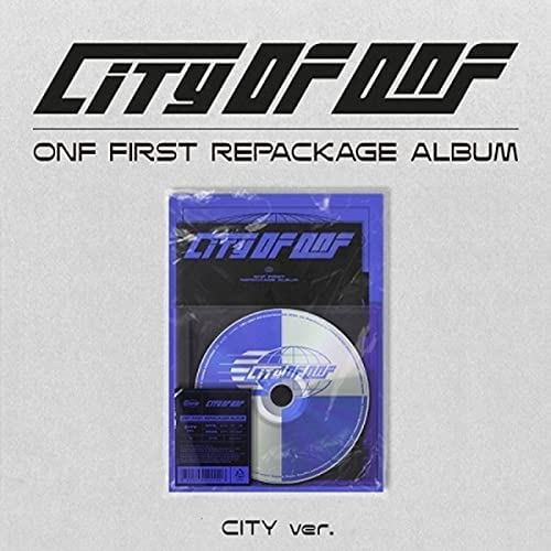 ONF City of 1st NEW before selling Repackage CD+100p Album Selling rankings PhotoBo Version