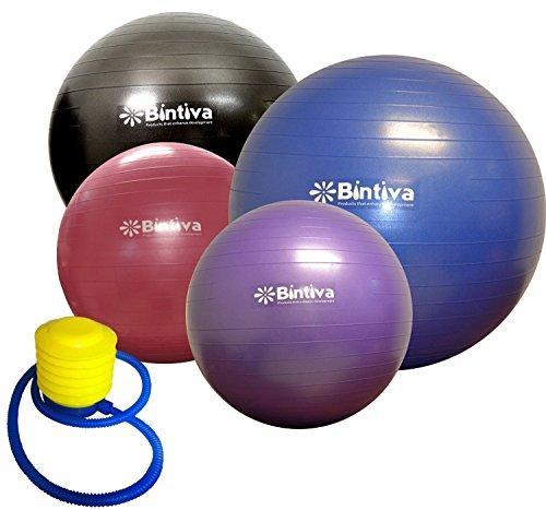 Anti-Burst Fitness Exercise Stability Yoga Ball / Swiss Gym Birthing Ball