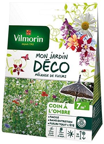 Vilmorin 5868407 Pack de Graines Mélange de Fleurs Coin à l'Ombre 7 m²