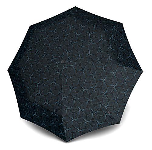 Knirps E.200 Duomatic Regenschirm Taschenschirm Schirm Auf-Zu Automatik Galaxy