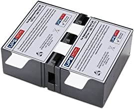 UPSBatteryCenter APCRBC131 Compatible Replacement Battery Pack - Plug & Play - 1 Year Warranty