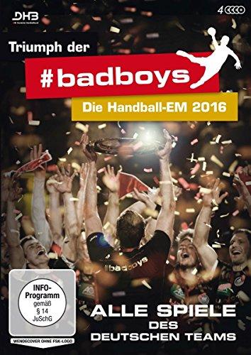 Triumph der badboys - Die Handball-EM 2016 - Alle Spiele des deutschen Teams [4 DVDs]