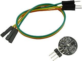 Aihasd Sensor de Pulso Sensor de frecuencia cardíaca módulo con Cable para Arduino Compatible