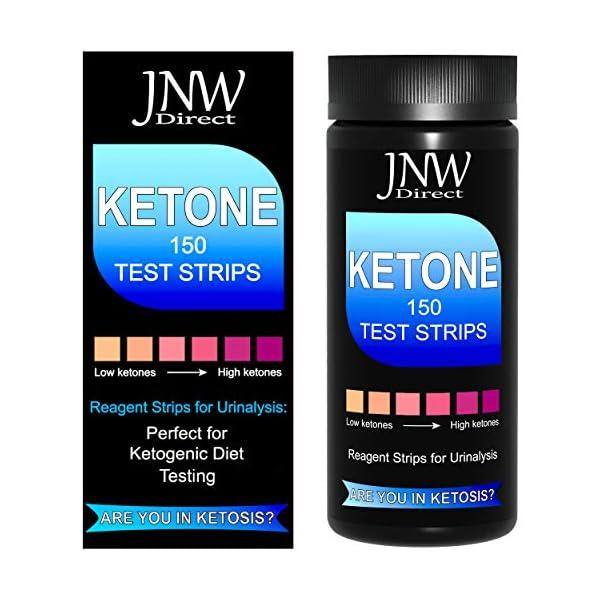 buy  JNW Direct Ketone Test Strips, 150 Urinalysis Keto ... Diabetes Care
