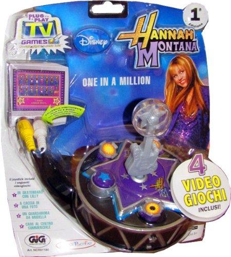 TV Games Hannah Montana - Joystik contenete 4 giochi precaricati