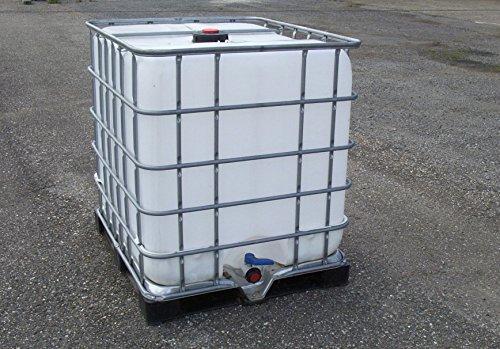 Class IBC Tank/Container, Regenwassertank 1000L 1.Wahl auf Stahl/PE-Palette #2