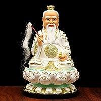 中国の仏像彫刻、ザイヨー島の樹脂像の樹脂像の樹脂像の宝石の像は風水からお金の駒を魅了します,16 in