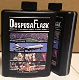 DisposaFlask - 12 Pack - Plastic Alcohol Flask