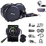 BAFANG BBS02B 750W 48V Ebike Motor with LCD Display 860C Mid Drive Electric Bike Conversion Kits (T44,860C Display