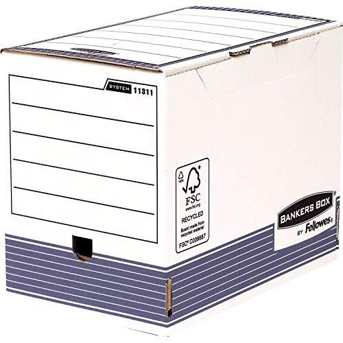 Bankers Box 1131102 Archivschachtel 10er Pack, 200 mm, A4+