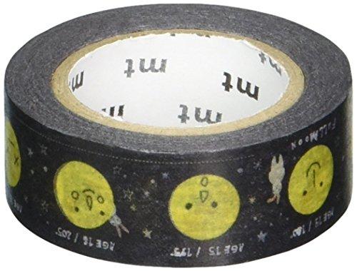 MT 和紙マスキングテープ 子供用 月 15mm x 7m (MT01KID024)
