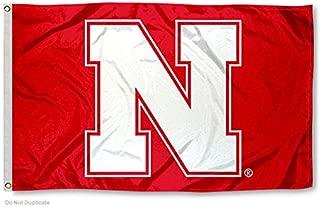 nebraska cornhuskers flag