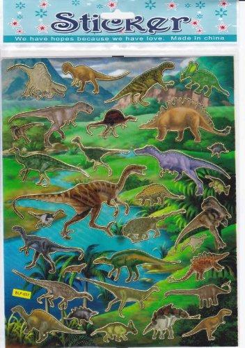 by soljo Dinosaure Animaux Decal Autocollant de décalque 1 Dimensions de la Feuille: 25 cm x 20 cm