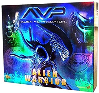 Hot Toys Alien Warrior AVP Alien Vs Predator Movie Masterpiece Series MMS17 1:6 Scale
