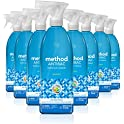 8-Pack Method Antibacterial Bathroom Cleaner, 28 Ounce (Spearmint)