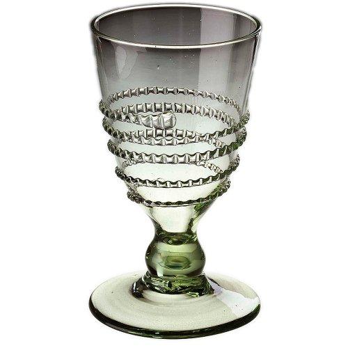 Original Thüringer Waldglas Weinglas Kelch mit Faden 14cm 0,2l Geschenkset 2 Stück im Geschenkkarton