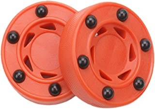 Silfrae Roller Hockey Puck Inline Hockey Pucks Roller Hockey Puck Street Hockey Puck Red