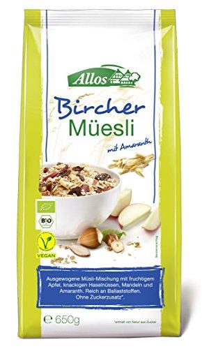 Allos - Bio Bircher Müsli mit Amaranth - 650g