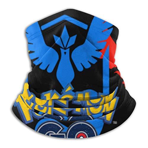 Custom made Pokemon Go - Braga de invierno unisex de forro polar para el cuello, para el frío, para el cuello, protección UV, cubierta para fiestas