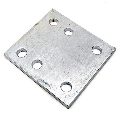 AB Tools Barra de Remolque/Placa de caída de Bola 6 Agujero Realce Espacial TR137