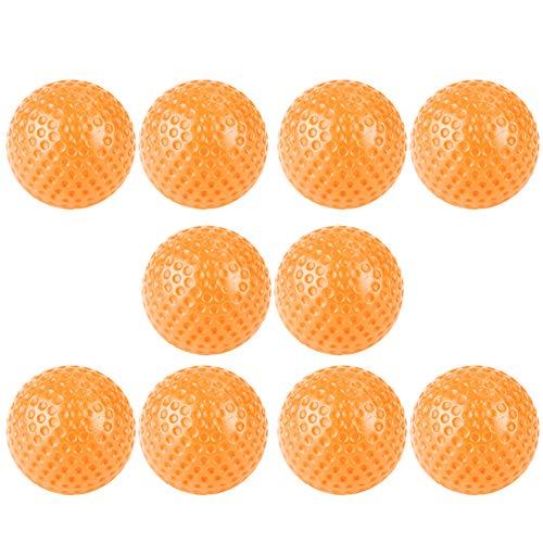 pushfocourag 100Hohl Praxis Golf Sport Fitnessstudio Spiel Ball Spielzeug für Innen Training Innen Gymnastikball Orange