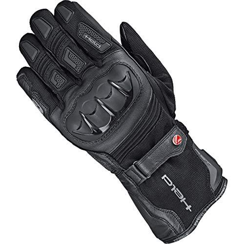 Held Motorradhandschuhe kurz Motorrad Handschuh Sambia 2in1 Gore-Tex® Handschuh schwarz 7, Herren, Enduro/Reiseenduro, Ganzjährig, Leder/Textil