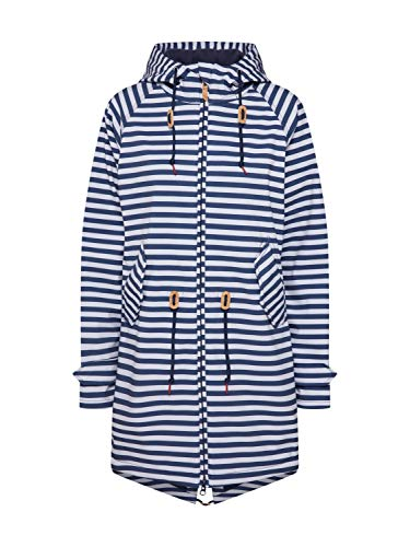 derbe Island Friese Striped, 42 Damen, Navy/White