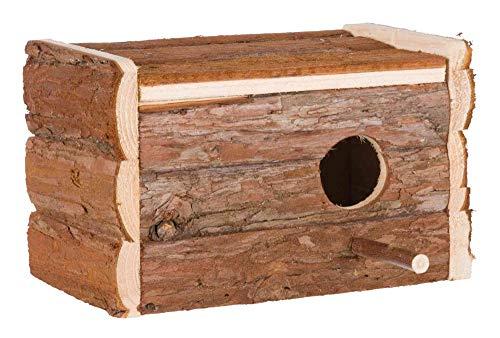 Trixie 5632 Natural Living Nistkasten, 21 × 13 × 12 cm/ø 3,8 cm