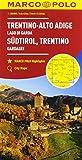 Trentino Alto Adige, lago di Garda 1:200.000 (Carte stradali Marco Polo)