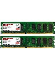 Komputerbay - Memoria DIMM para PC, DDR2, 667MHz, PC2-5300/PC2-5400 667 (240 PIN), 4GB (2 x 2GB)